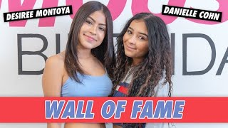 Danielle Cohn and Desiree Montoya - Wall of Fame