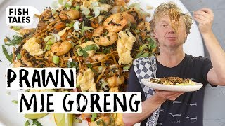 Mie goreng with WAKAME and PRAWNS | Bart van Olphen