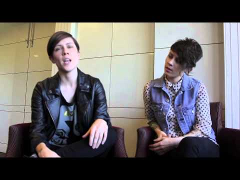 AMH TV - Interview with Tegan and Sara - 2013