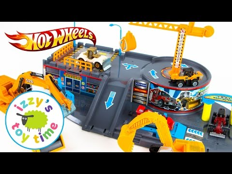 Cars for Kids | Hot Wheels Toys and Fast Lane Construction Vehicles | Fun Toy Cars for Kids