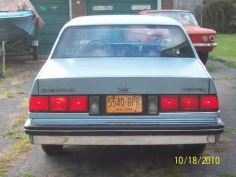 The Crew Autos >> My 1986 Chevrolet Celebrity-Original & Excellent! - YouTube