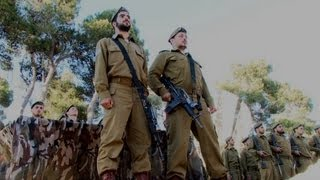 Elite battalion of the IDF sings Ani Maamin
