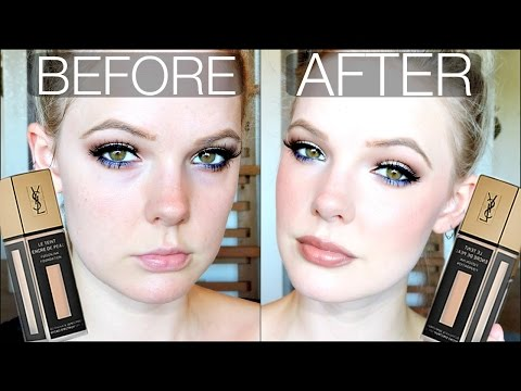 YSL FUSION INK FOUNDATION | Review & Demo