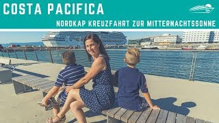 Costa Pacifica: Nordkap Kreuzfahrt zur Mitternachtssonne - Reisevideo