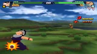 Dragon Ball Z Budokai Tenkaichi 3 Version Latino Final   Modo Historia Saga Saiyan