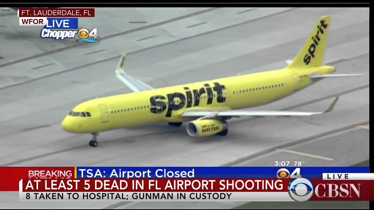 WATCH LIVE: Shooting at Ft. Lauderdale Airport: At least 5 Dead