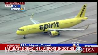 WATCH LIVE: Shooting at Ft. Lauderdale Airport