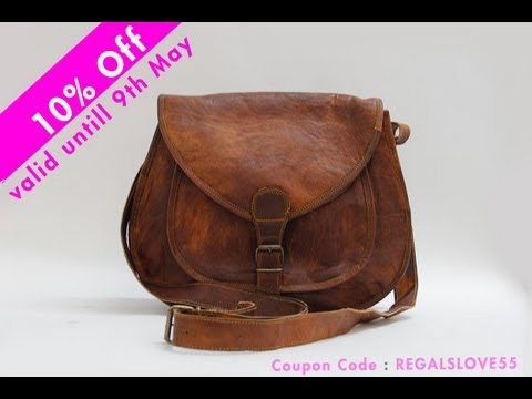 Ladies Leather Handbag At Just $55.... Buy Now