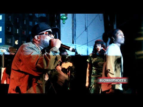 "BIG BOI BRINGS OUT A$AP ROCKY TO PERFORM ""LINES"" LIVE @ SOBS NYC: BLOWHIPHOPTV.COM"