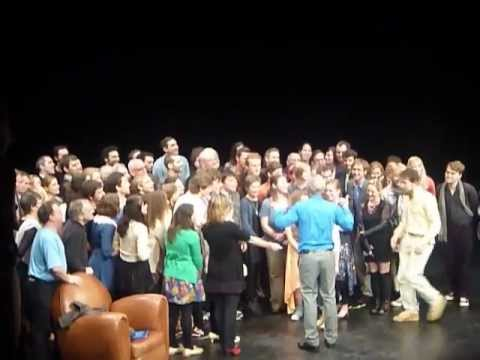 Ian McKellen On Stage - Hobbit Cast Appearance (incl. Martin Freeman!)