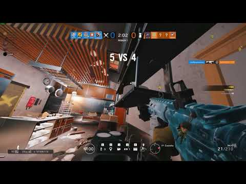 RAINBOW SIX HIGHLIGHT - RANKED ROUND 2 X 5