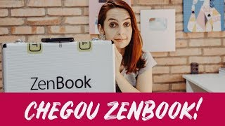 CHEGOU ASUS ZENBOOK! - UNBOXING!| Luh Testoni