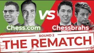 Team Chess Rematch: Chess.com vs.Chessbrah