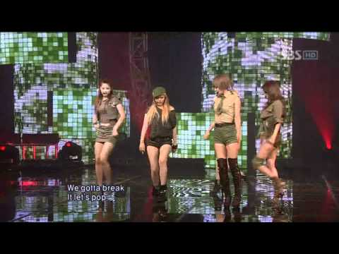 4minute - I My Me Mine (포미닛 - I My Me Mine)  Sbs Inkigayo 인기가요 100704 video