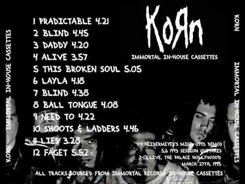 Korn - Neidermeyer's Mind FULL DEMO (1993) Remastered 2015 best sound