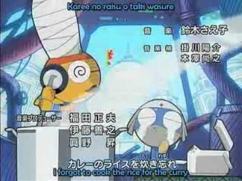 Keroro Gunso Opening video