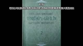 019 EVLİ OLDUKLARI HALDE ZİNA EDENLERİN CEZASI