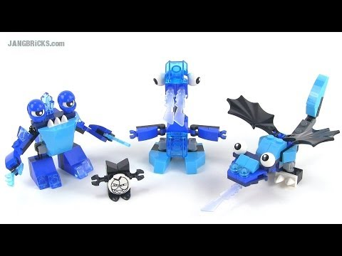LEGO Mixels Series 2 Frosticons Slumbo. Lunk. & Flurr reviewed!