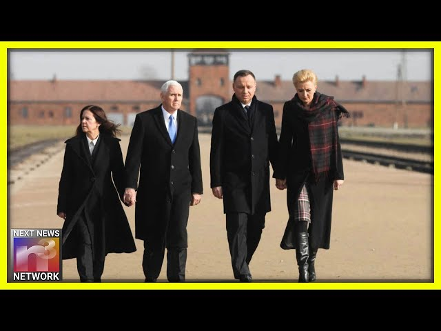 Mike Pence Visits A Moment In History With Polish President