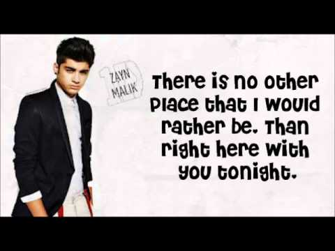 Stole My Heart - One Direction (Lyrics with pictures)