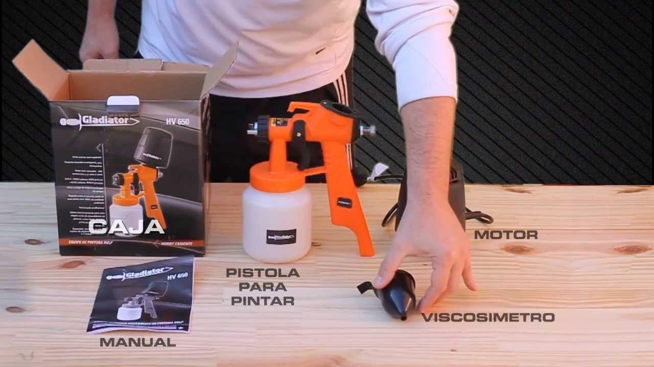 Pistolas el tricas gladiator youtube - Pistolas de pintura electricas ...