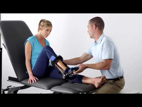 Empi Advance Dynamic ROM - Ankle Orthosis Application