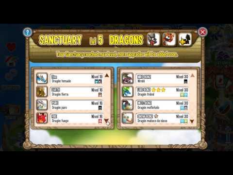 Santuario de Cria Combinaciones Dragon City