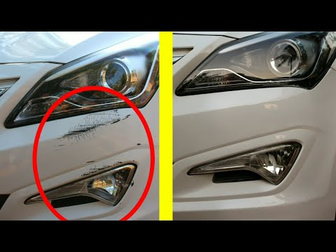 How to remove deep scratch from car