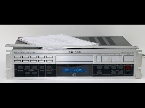 Studer A727 CD player