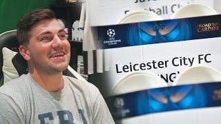 LEICESTER WILL WIN THE CHAMPIONS LEAGUE!!! UCL Quarter Finals Draw Reaction + Predictions!