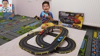 AUTO RACING SET ARE OPEN, ROTATING THE VEHICLE, Fun Kid Videos