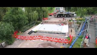 Timelapse of Church Lane bridge construction