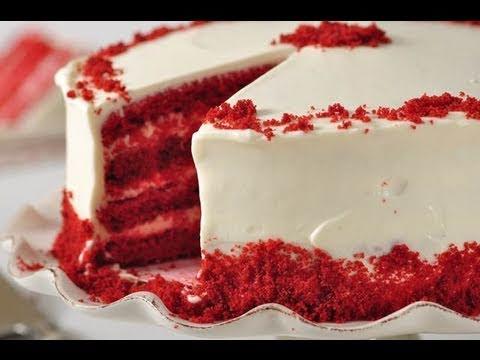 Red Velvet Cake Recipe Demonstration