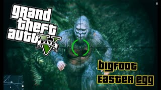 GTA V - Real Bigfoot Myth found