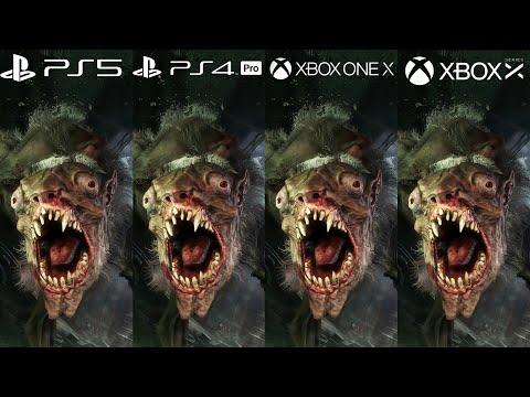 Metro Exodus - PS5 vs PS4 Pro, Xbox Series X vs Xbox One X Comparison - Frame Rate Test