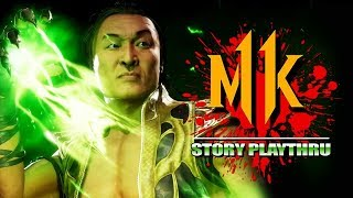 SHANG TSUNG - Full Story Playthru: Mortal Kombat 11 DLC
