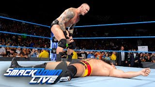 Randy Orton drops Rusev with another RKO: SmackDown LIVE, Aug. 15, 2017