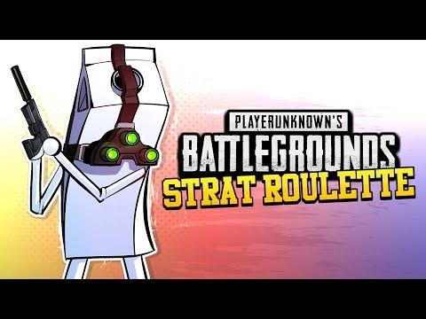 BATTLEGROUNDS Strat Roulette! - Sam 'Fisher Price' (PUBG Splinter Cell Challenge)