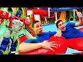 Видео Шоу - Школа героев  Акватим! - Подготовка супергероев.