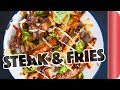 DIY Steak & Cheese Fries... Food Truck Style