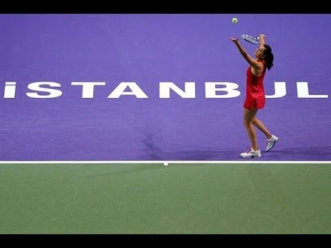 Agnieszka Radwanska vs Vera Zvonareva YEC Istanbul 2011 Highlights