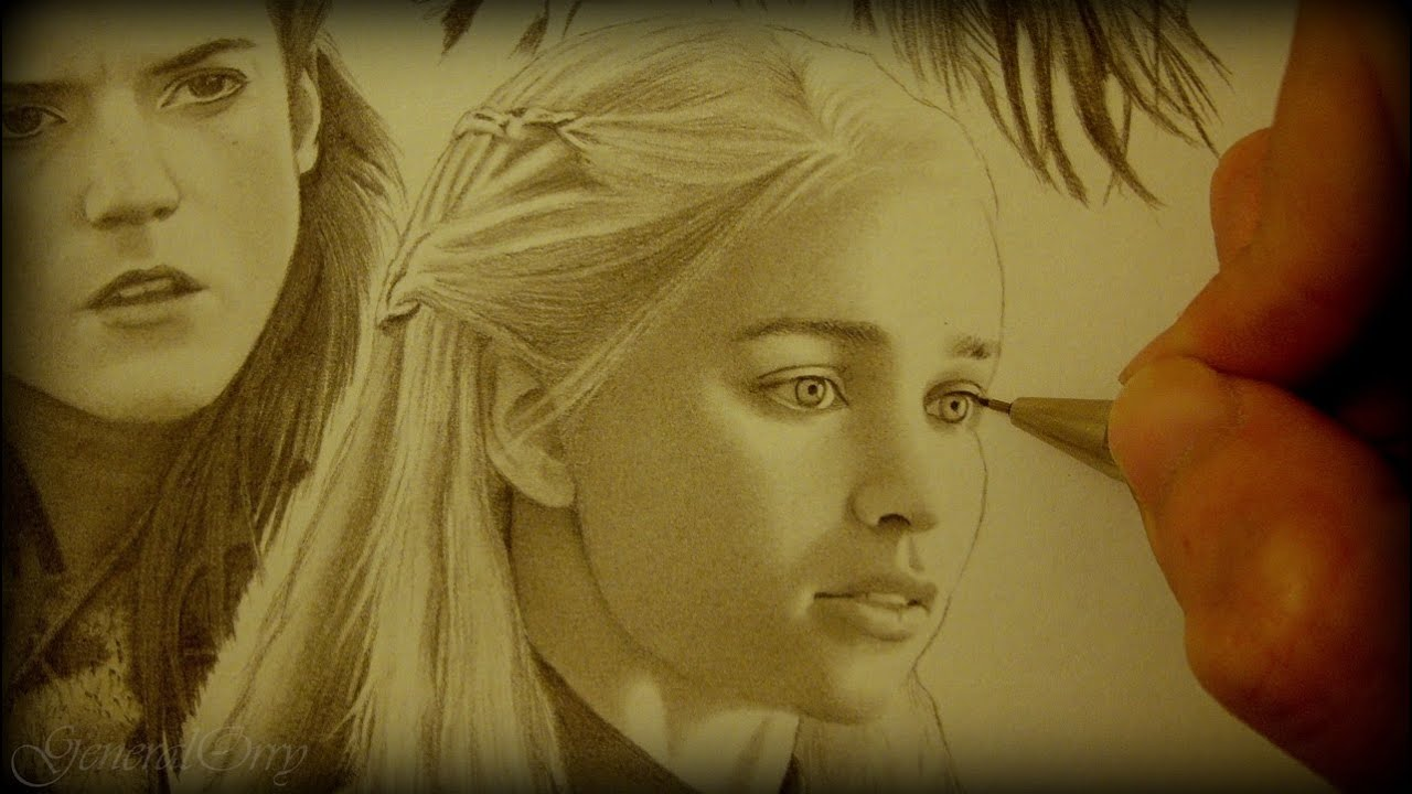 Game of Thrones Daenerys Drawing Drawing Game of Thrones Arya