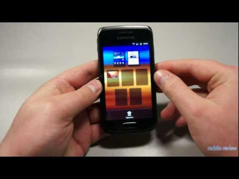 Обзор Samsung Galaxy W i8150