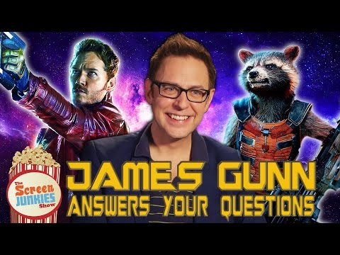 Guardians Director James Gunn Answers YOUR Questions!!