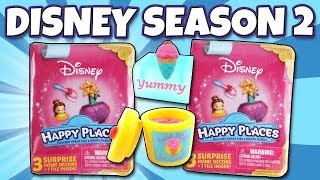 NEW Season 2 Disney Happy Places 👸 Blind Pink Book Opening Princess Toy Review | Trusty Toy Channel