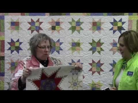 "Sewtopia Sewing Club Recap ""Oh My Stars"" Starring Laurie Parker"