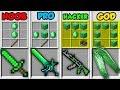 Minecraft NOOB vs. PRO vs. HACKER vs. GOD: EMERALD CRAFTING in Minecraft! (Animation)