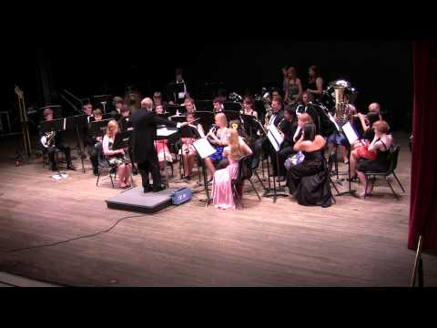 Resplendent Glory - West Hall High School Symphonic Band, Spring 2012