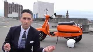 Scomadi Twist (& Go) unofficial version of the Lambretta Twist Advert