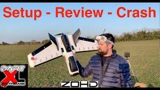 FPV ZOHD Dart XL - Setup - Review - Crash